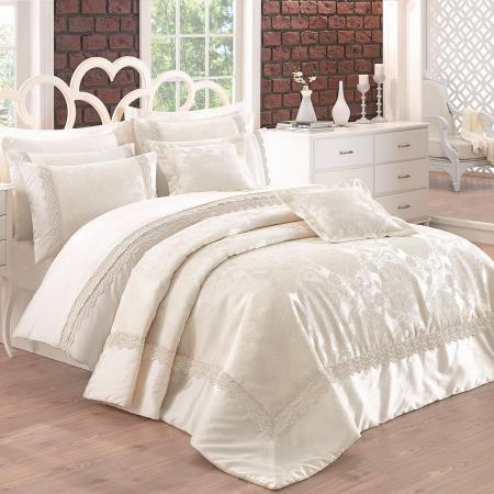 Bed linen and bedspread Delux Linetta