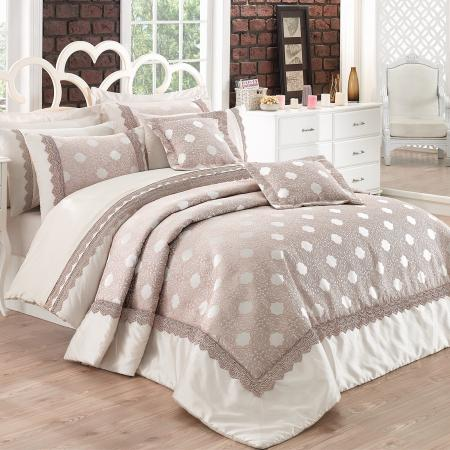 Bed linen and bedspread Delux Caren