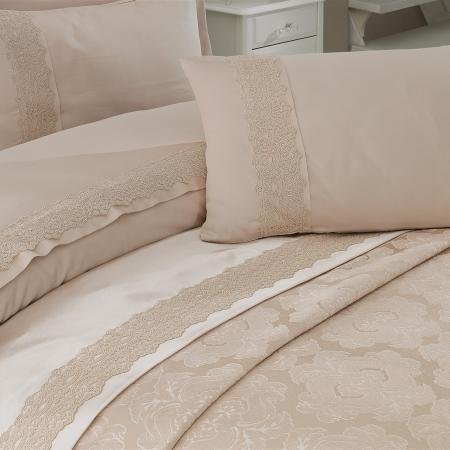 Bed linen and bedspread Delux Alize