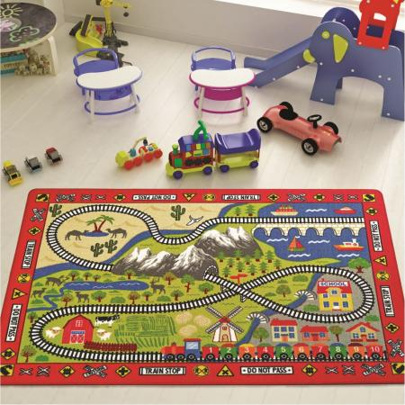Carpet Railway133x190