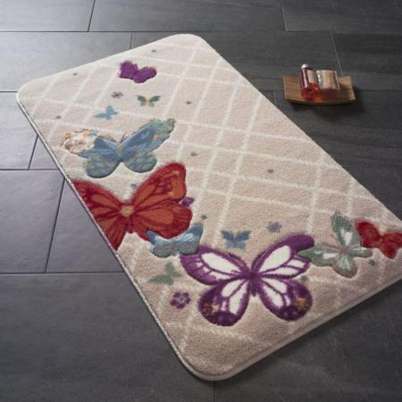 Carpet Butterfly Plaid red 57x100