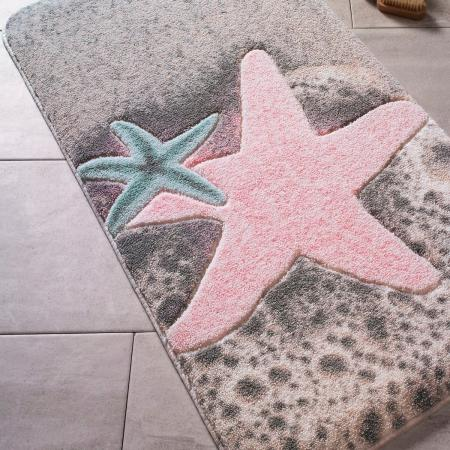 Carpet Starfish Pink 57x100