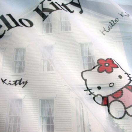 детски воал Hello Kitty Hearts - розово -07210