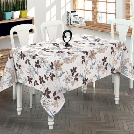 Luxury tablecloth Scarlet brown 130x170