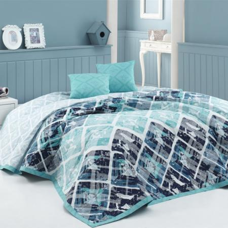 Bedspread Riviera turquoise