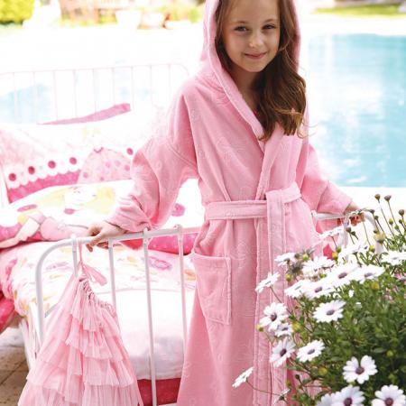 Children bathrobe Butterfly pink 15 years