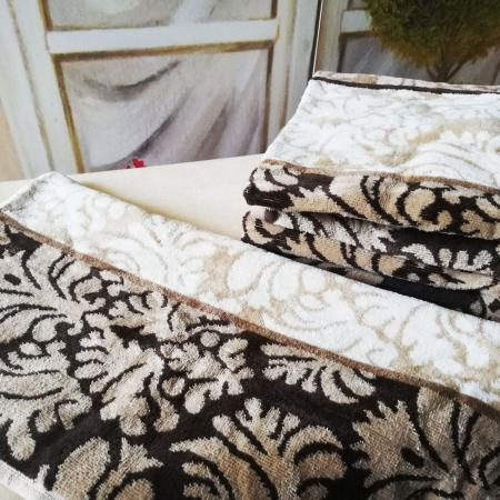 Damask Desenli brown