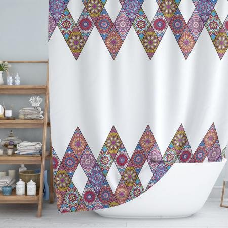 Shower curtain Patchwork