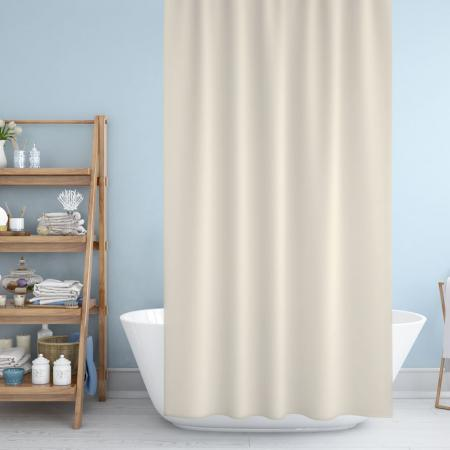 Shower curtain Cream