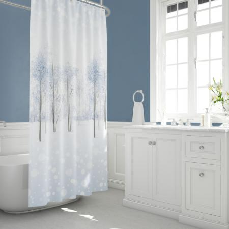 Shower curtain Snow