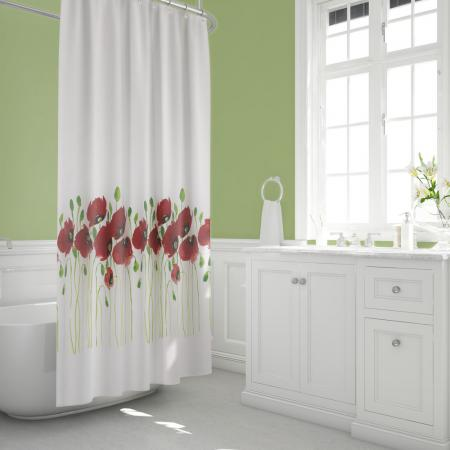 Shower curtain Poppy