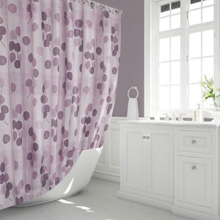 Shower curtain Violet
