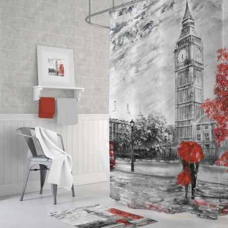 Shower curtain Big Ben