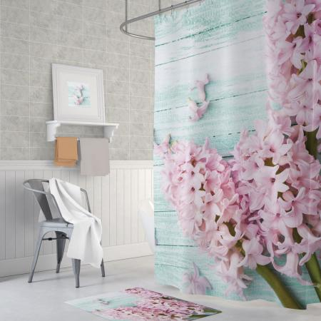 Shower curtain Lilac